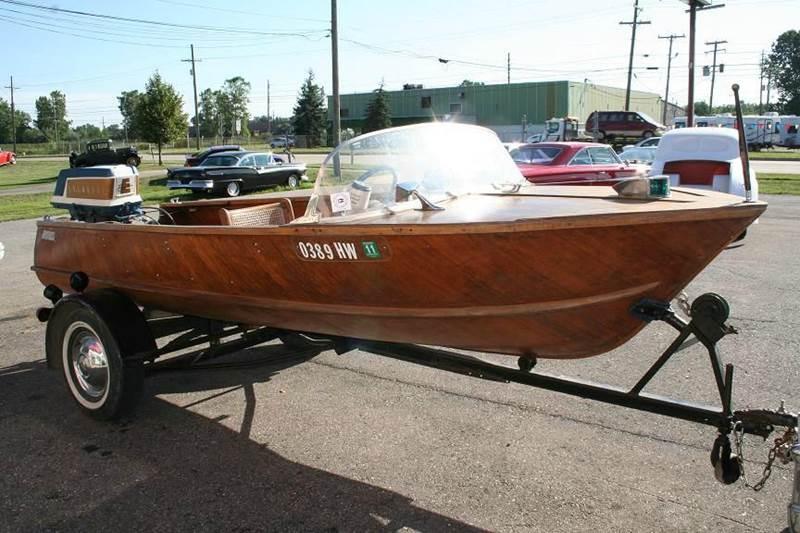 1950 Wolverine Boat for sale at Modern Classics Car Lot in Westland MI