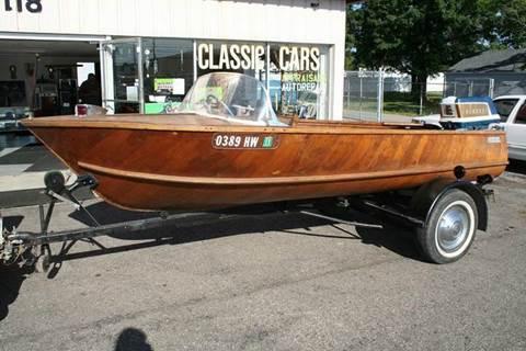 1950 Wolverine Boat