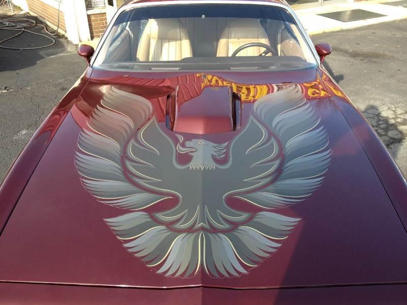 1981 Pontiac Firebird Trans Am 2dr Coupe - Westland MI