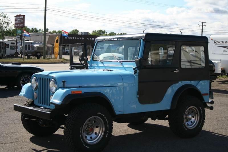 1976 Jeep Cj 5 In Westland Mi Modern Classics Car Lot