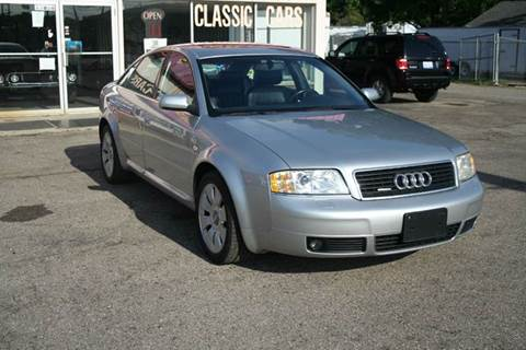 2000 Audi A6 for sale at Modern Classics Car Lot in Westland MI
