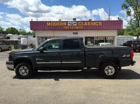 2003 Chevrolet Silverado 2500HD for sale at Modern Classics Car Lot in Westland MI