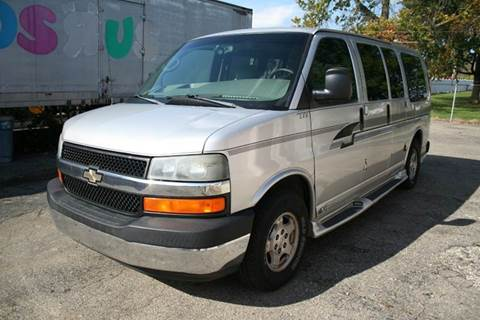 2004 Chevrolet Express Passenger for sale at Modern Classics Car Lot in Westland MI