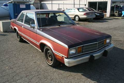 1981 Ford Fairmont for sale at Modern Classics Car Lot in Westland MI