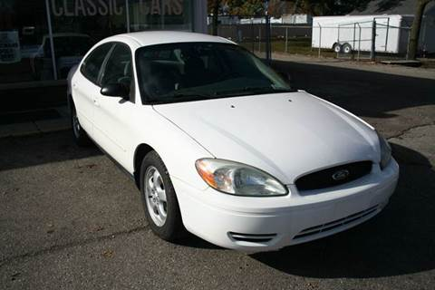 2004 Ford Taurus for sale at Modern Classics Car Lot in Westland MI