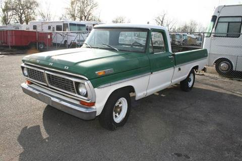 1970 Ford F-100 for sale at Modern Classics Car Lot in Westland MI