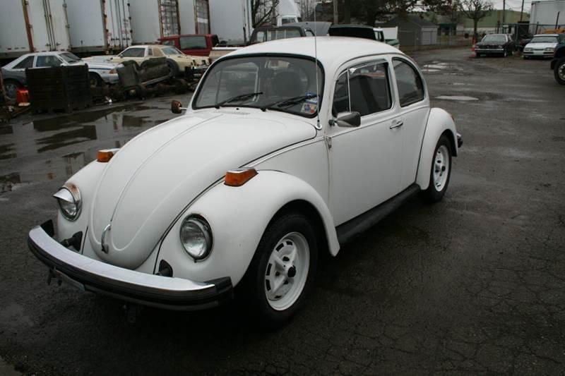 1977 Volkswagen Beetle for sale at Modern Classics Car Lot in Westland MI