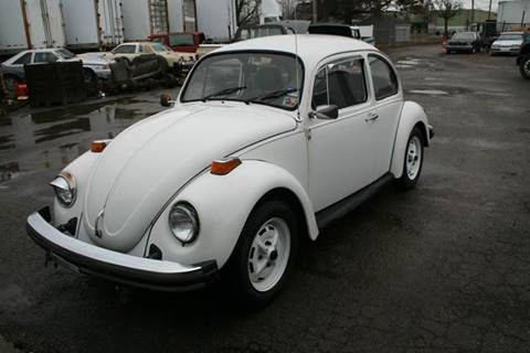 1977 Volkswagen Beetle for sale at Modern Classics Car Lot in Westland MI