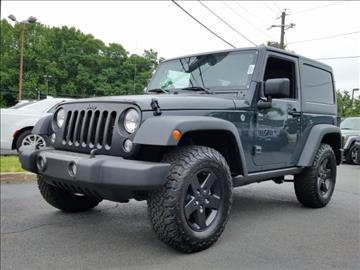 2017 Jeep Wrangler for sale in Lawrenceville, NJ