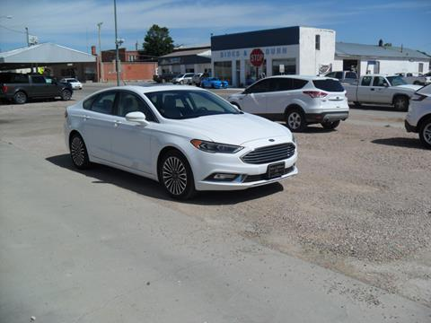 2017 Ford Fusion for sale in Rushville, NE