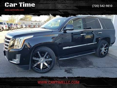 2018 Cadillac Escalade for sale at Car Time in Denver CO