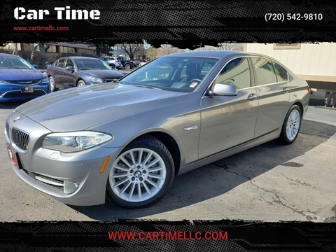 2013 BMW 5 Series for sale at Car Time in Denver CO