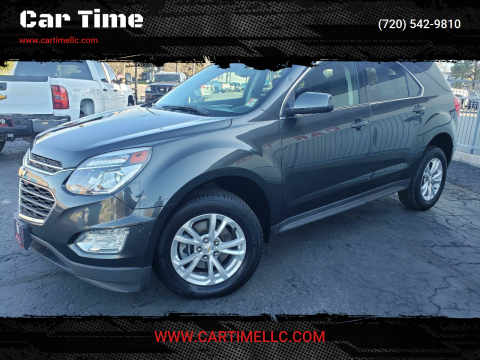 2017 Chevrolet Equinox for sale at Car Time in Denver CO