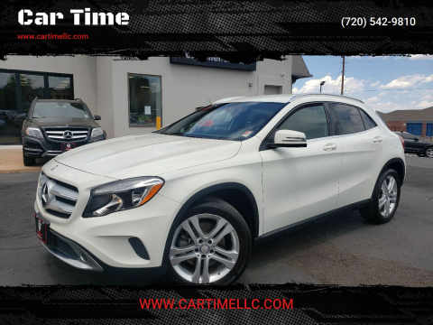 2017 Mercedes-Benz GLA for sale at Car Time in Denver CO