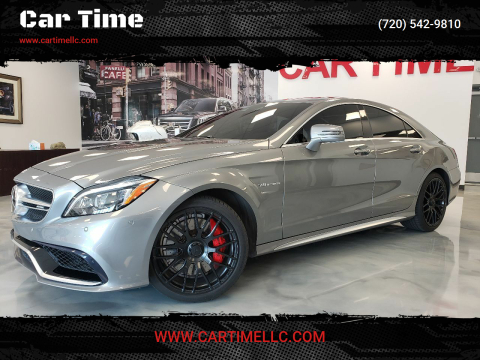 2015 Mercedes-Benz CLS for sale at Car Time in Denver CO