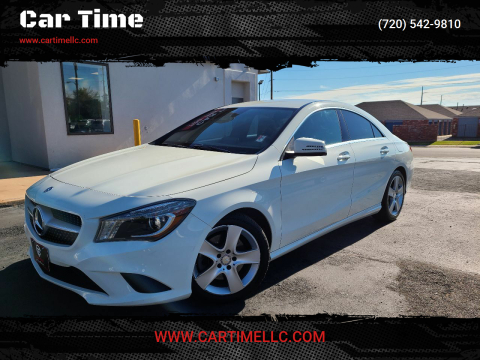 2015 Mercedes-Benz CLA for sale at Car Time in Denver CO
