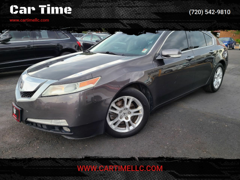 2010 Acura TL for sale at Car Time in Denver CO