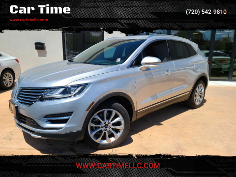 2016 Lincoln MKC for sale at Car Time in Denver CO