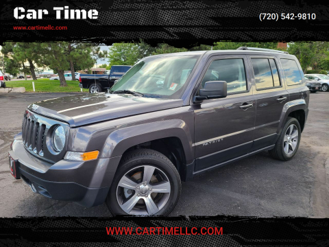 2017 Jeep Patriot for sale at Car Time in Denver CO