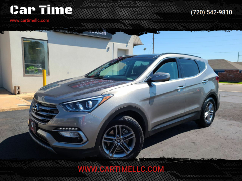 2017 Hyundai Santa Fe Sport for sale at Car Time in Denver CO