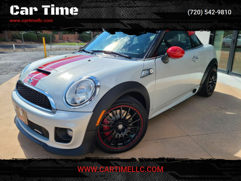 2012 MINI Cooper Coupe for sale at Car Time in Denver CO
