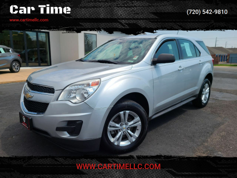 2014 Chevrolet Equinox for sale at Car Time in Denver CO