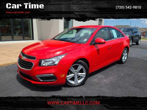 2015 Chevrolet Cruze for sale at Car Time in Denver CO