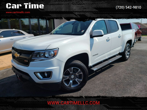 2017 Chevrolet Colorado for sale at Car Time in Denver CO