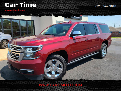 2016 Chevrolet Suburban for sale at Car Time in Denver CO