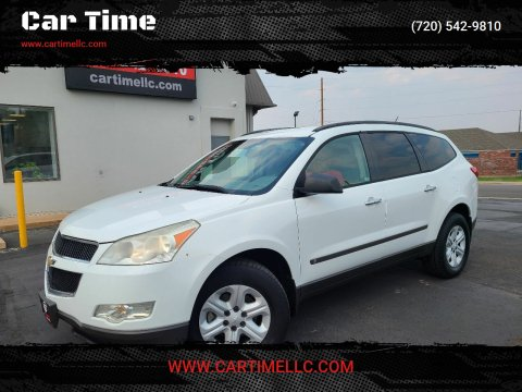 2009 Chevrolet Traverse for sale at Car Time in Denver CO