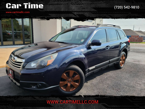 2012 Subaru Outback for sale at Car Time in Denver CO