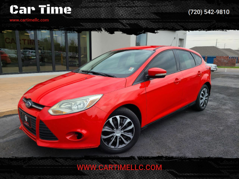 2012 Ford Focus for sale at Car Time in Denver CO