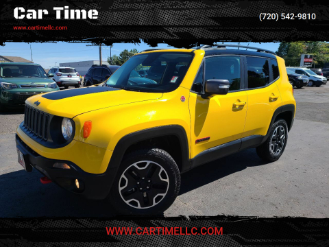 2016 Jeep Renegade for sale at Car Time in Denver CO