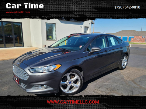 2016 Ford Fusion for sale at Car Time in Denver CO