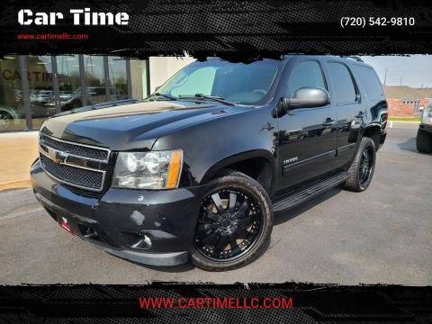 2012 Chevrolet Tahoe for sale at Car Time in Denver CO