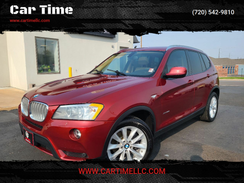 2014 BMW X3 for sale at Car Time in Denver CO
