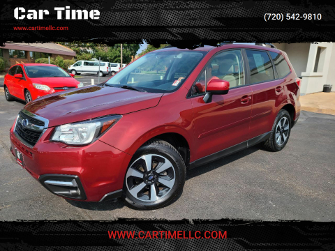 2017 Subaru Forester for sale at Car Time in Denver CO