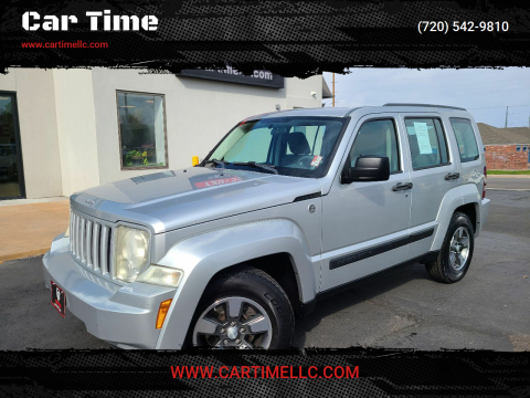 2008 Jeep Liberty for sale at Car Time in Denver CO