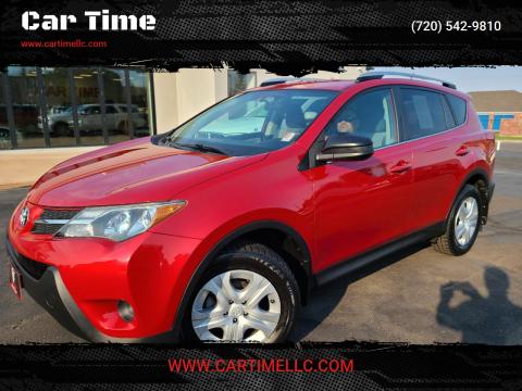 2014 Toyota RAV4 for sale at Car Time in Denver CO