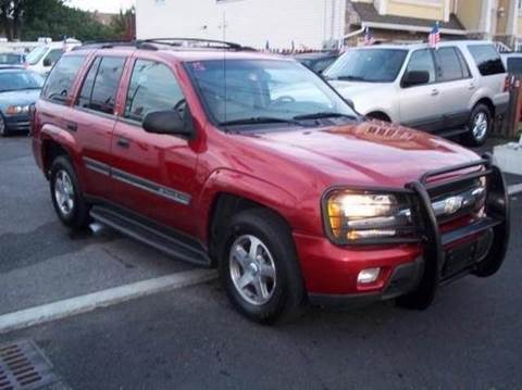 2002 Chevrolet TrailBlazer for sale at Route 46 Auto Sales Inc in Lodi NJ