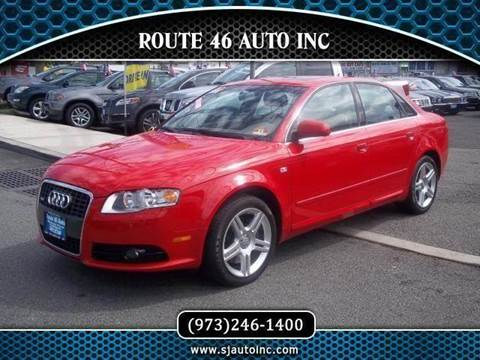2008 Audi A4 for sale at Route 46 Auto Sales Inc in Lodi NJ