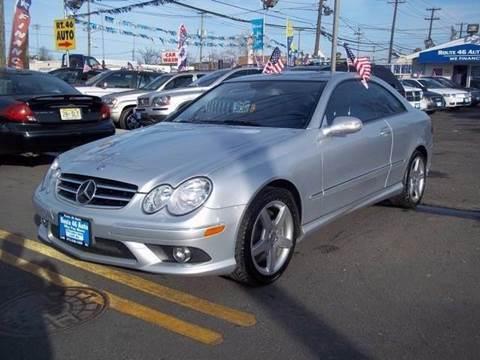 2007 Mercedes-Benz CLK-Class for sale at Route 46 Auto Sales Inc in Lodi NJ
