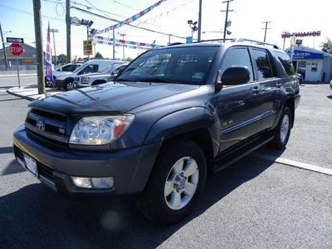 2004 Toyota 4Runner for sale at Route 46 Auto Sales Inc in Lodi NJ