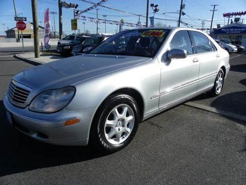 2002 Mercedes-Benz S-Class for sale at Route 46 Auto Sales Inc in Lodi NJ