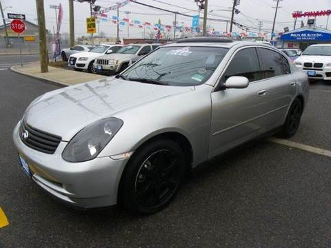 2003 Infiniti G35 for sale at Route 46 Auto Sales Inc in Lodi NJ
