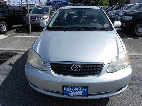 2005 Toyota Corolla for sale at Route 46 Auto Sales Inc in Lodi NJ