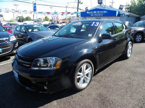 2013 Dodge Avenger for sale at Route 46 Auto Sales Inc in Lodi NJ