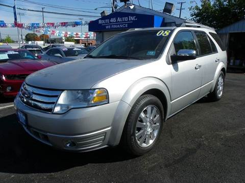 2008 Ford Taurus X for sale at Route 46 Auto Sales Inc in Lodi NJ