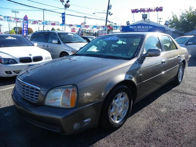 2002 Cadillac DeVille for sale at Route 46 Auto Sales Inc in Lodi NJ