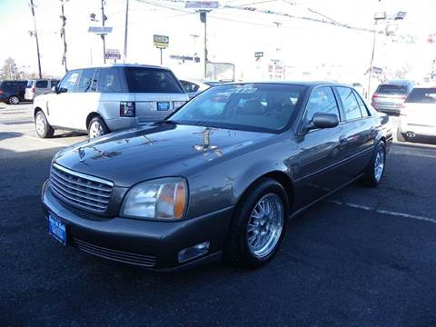 2002 Cadillac DeVille for sale at Route 46 Auto Sales Inc in Lodi NJ